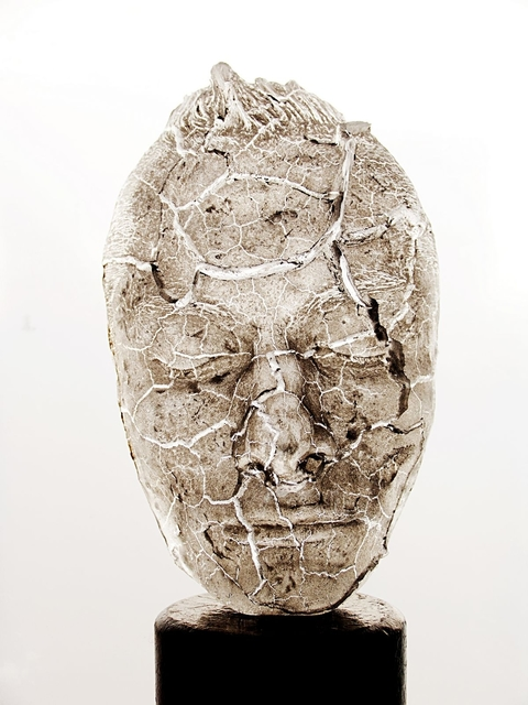 , 'Life Mask of the Artist and Himself at 29,' 2011, Galerie Rüdiger Schöttle