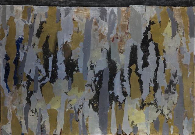 , 'N°47-1962 - Long mur vertical,' 1962, Jérôme Poggi