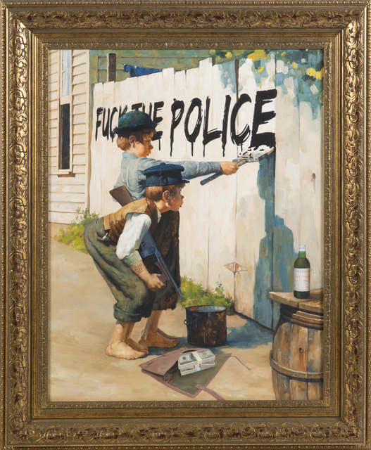Mason Storm, 'Boys In The Hood', 2014, Julien's Auctions