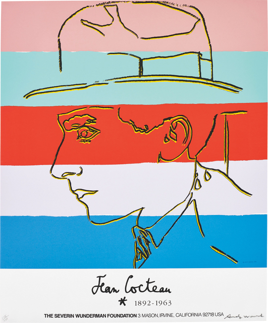 Andy Warhol, 'Jean Cocteau', 1985, Phillips