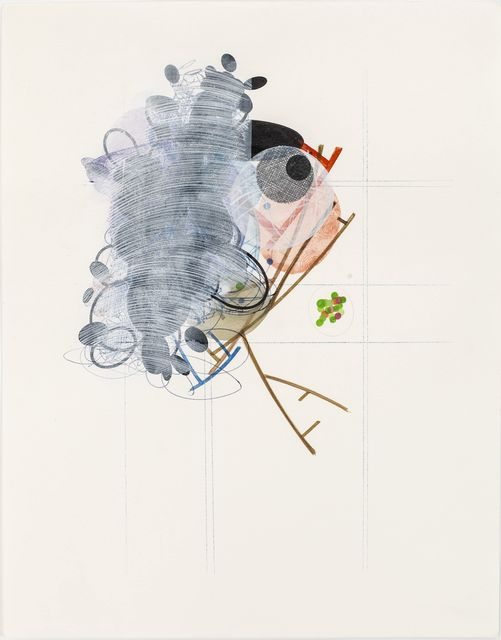 Yvonne Estrada, '380-10', 2010, Drawing, Collage or other Work on Paper, Watercolor on paper, Jason McCoy Gallery