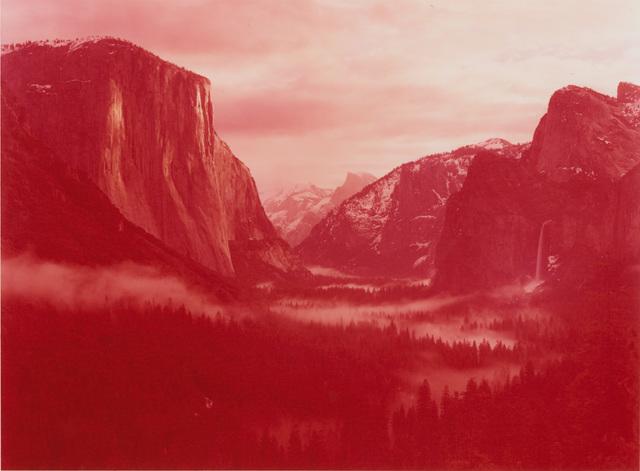 , 'Winter Sunrise over Yosemite Valley, Yosemite, California,' 2013, Fraenkel Gallery