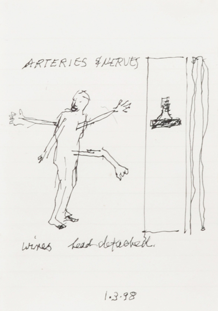 , 'Arteries and Nerves,' 1998, Oeno Gallery
