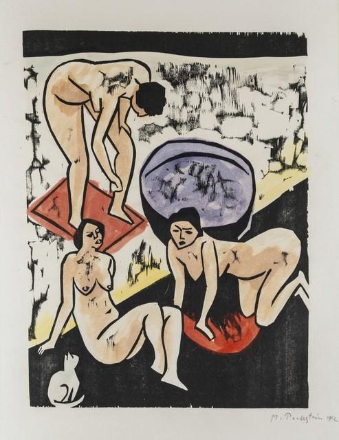 Max Pechstein, 'Bathers I', 1911-1912, Galerie Thomas