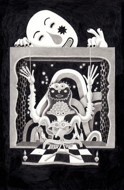 , 'Puppet Theatre,' 2018, HARPY