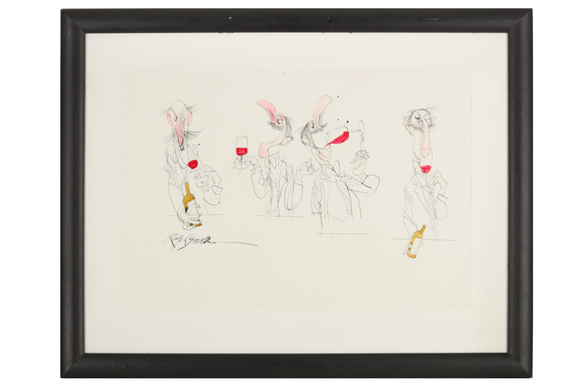 Ralph Steadman, 'Four Wine Tasters', Chiswick Auctions