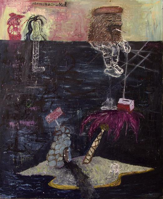, 'nowwearereallyfucked,' 2010, Jack Fischer Gallery