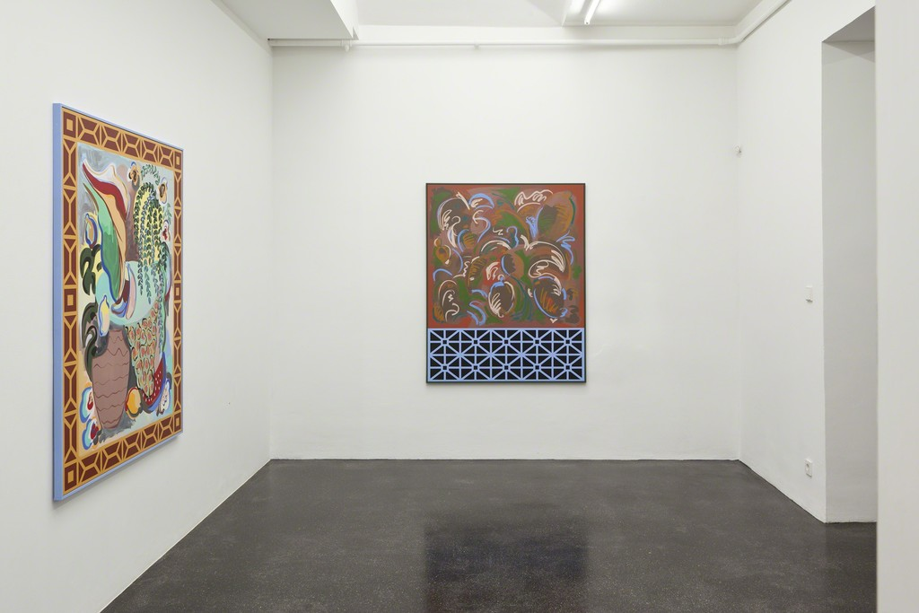 SOL CALERO. Solo Pintura, Installation view, Barbara Gross Galerie, Munich, 2018, Photo: Wilfried Petzi