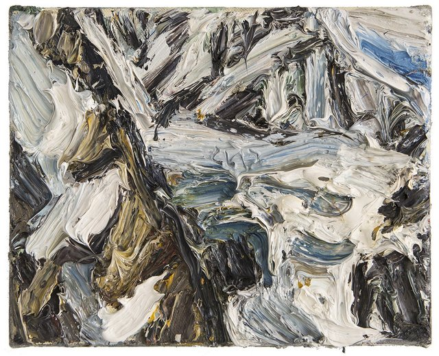 , 'Gletscher - Fragment,' 2013, Galerie Kornfeld