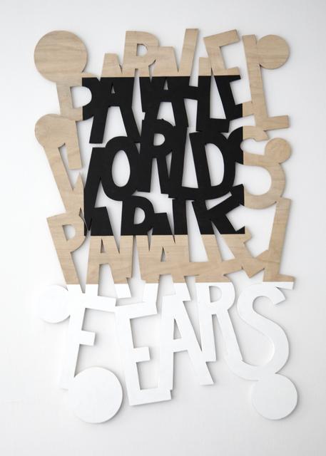, 'Words 57 (Dazzle Dialectics 4),' 2016, Galerie Bart