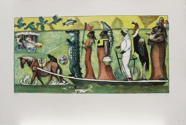 Shinzaburo Takeda, 'Rio de Ixhuatan', La Mano Magica