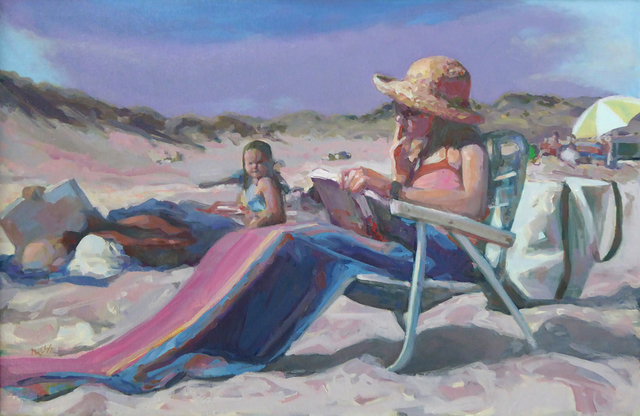 , 'Beach Day Afternoon,' , The South Street Gallery
