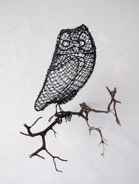 , 'One-eared Owl,' 2018, Talley Dunn Gallery