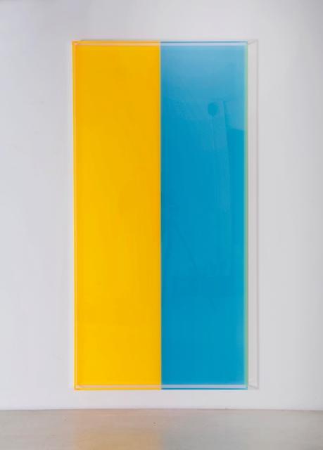 , 'colormirror orange türkis bonn,' 2019, Galerie Judith Andreae