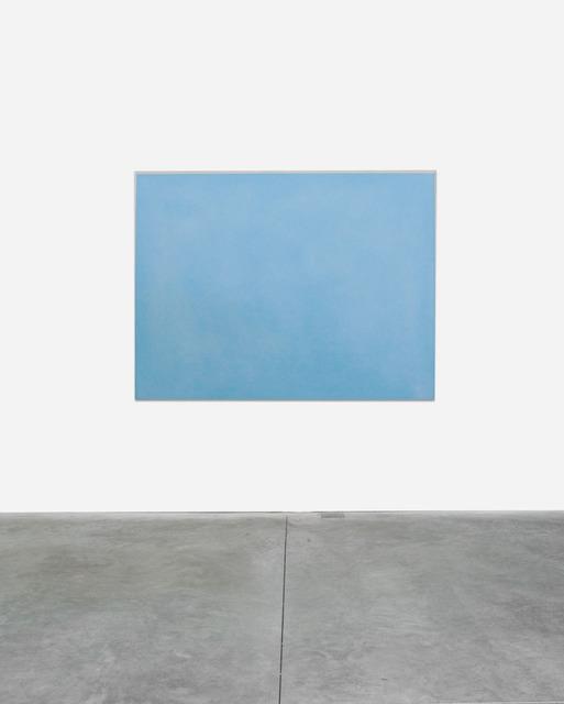 , 'Azzurro cobalto, argento,' 2010, Lia Rumma