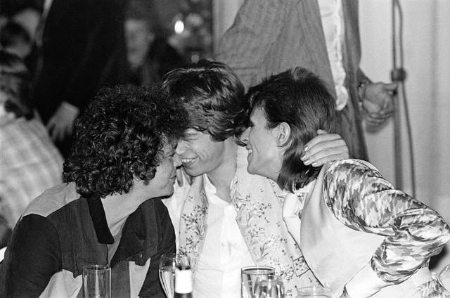 , 'Reed, Bowie, Jagger Cuddling,' 1973, TASCHEN