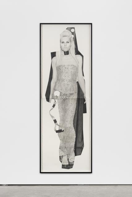, 'paper doll 2,' 2016, Wentrup