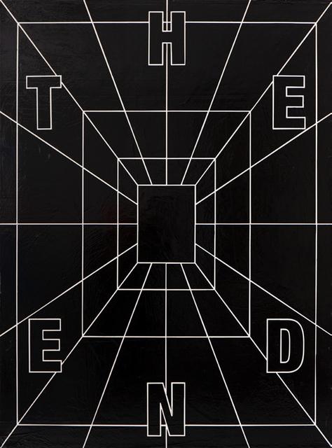 , 'THE END,' 2019, Joerg Heitsch Gallery