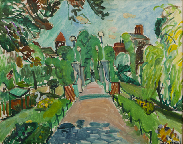, 'Bridge in the Boston Public Garden,' 1975, Childs Gallery