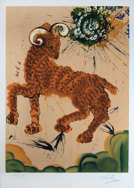 Salvador Dalí, 'Signs of the Zodiac: Aries', 1967, Print, Color lithograph on Arches paper, Galerie Michael