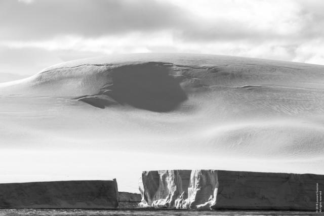 Leonard Sussman, 'Tabular Icebergs and Glacier, Tabarin Peninsula, Antarctica', 2018, Garvey | Simon