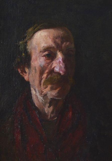 Frank Duveneck, 'Male Portrait', Eisele Gallery of Fine Art