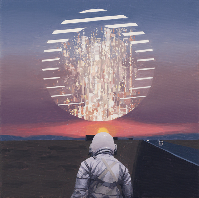, 'Circle,' 2018, Spoke Art