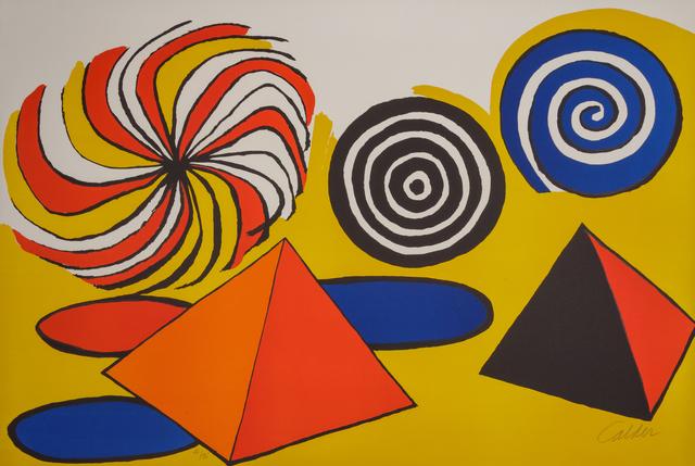 Alexander Calder, 'Untitled (Pinwheels and Pyramids)', 1970, Hindman