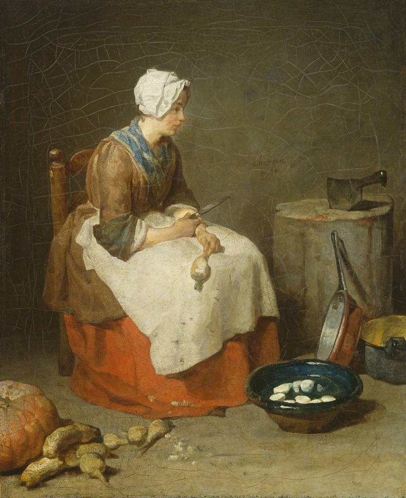 Interior Kitchen Maid jean chardin the kitchen maid 1738 artsy national gallery of