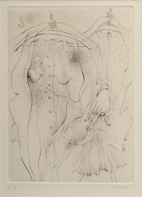 , 'A Sade #1,' 1961, Hieronymus
