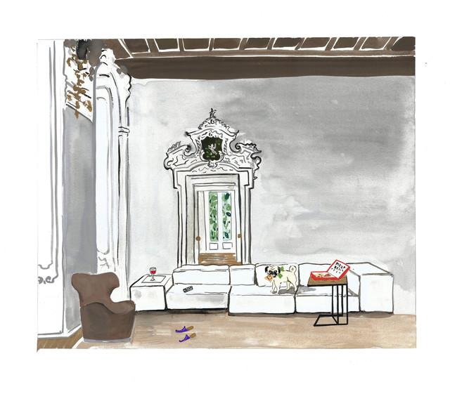 , 'The Refined Couch Potato,' 2014, Gavlak