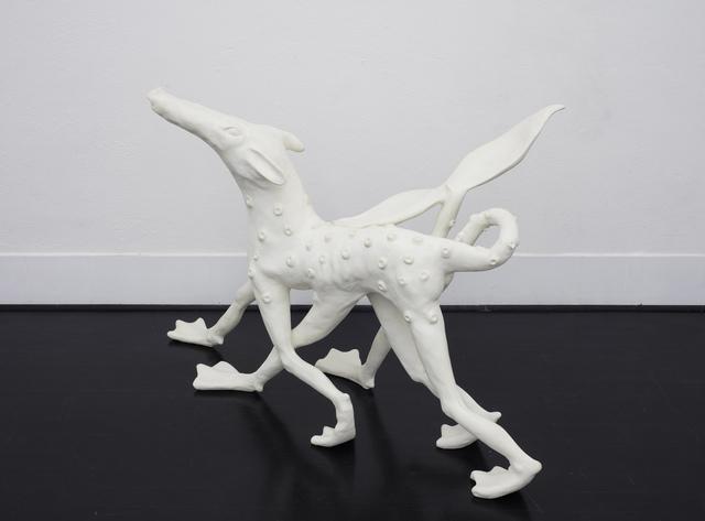 , 'Sex pedibus animalis caudam pisciorum,' 2017, Galleria Pack