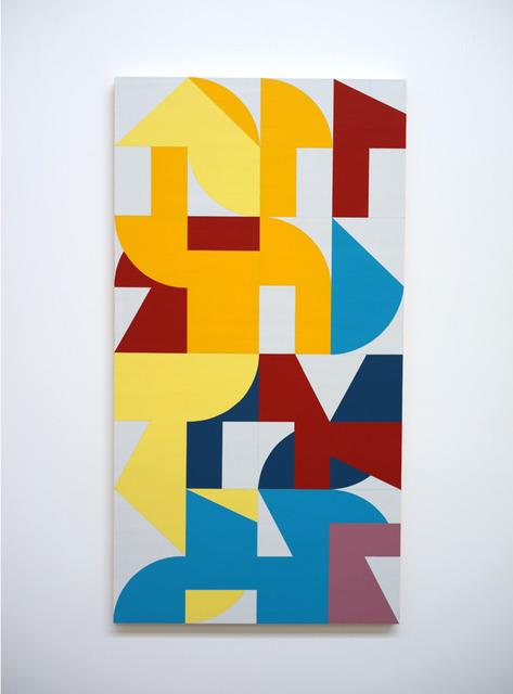 Eltono, 'Modo n°30 (Fluctuo 124x64,5)', 2019, Galerie Slika