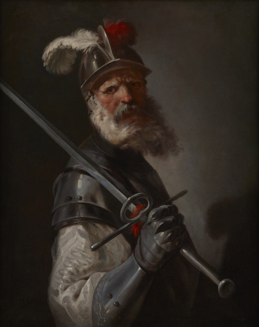 , 'Idealised Portrait of a Soldier,' 1645-1650, Brun Fine Art