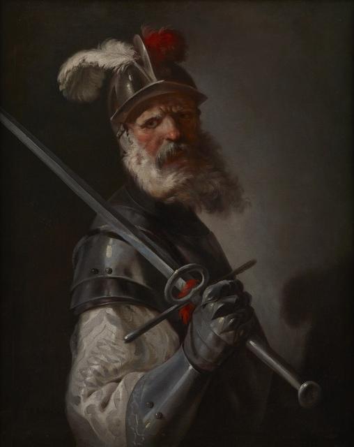 , 'Idealised Portrait of a Soldier,' 1645-1650, Brun Fine Art