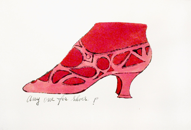 Andy Warhol, 'Any One For Shoes?', Woodward Gallery