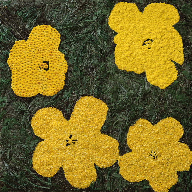 Vik Muniz, 'Flowers, after Warhol (9)', 2012, Sikkema Jenkins & Co.