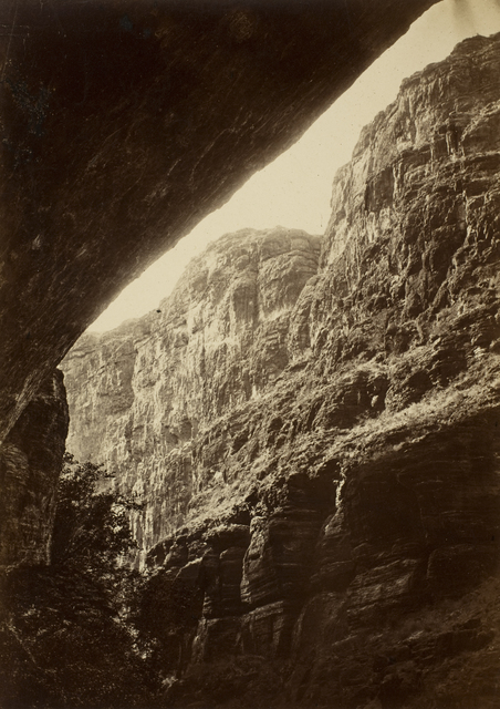 , 'Cañon of Kanab Wash, Looking South,' 1872, George Eastman Museum