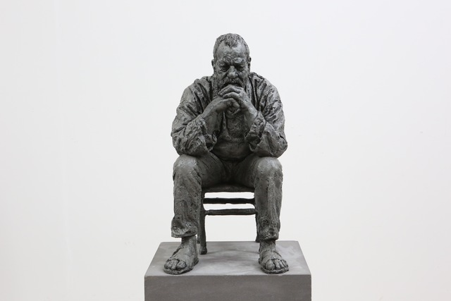 , 'Seated Man,' 2016, Osborne Samuel