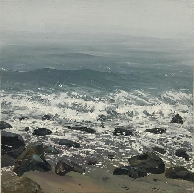 Annie Wildey, 'Rocks n Surf IV', 2016, Kathryn Markel Fine Arts