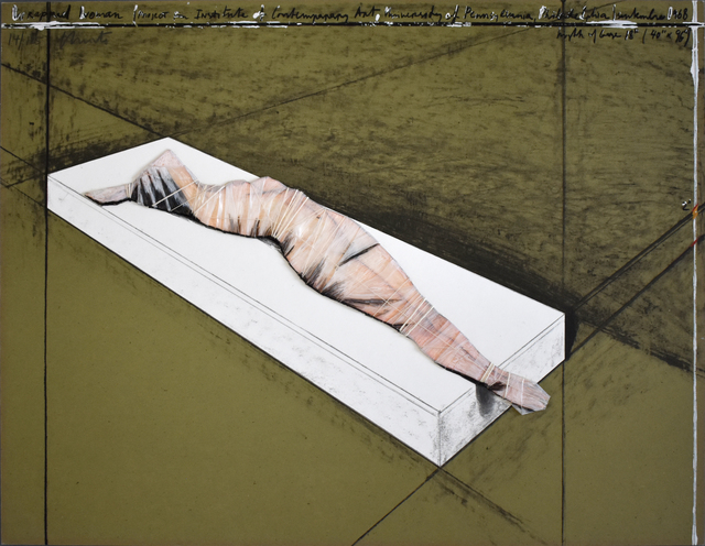 , 'Wrapped Woman, Project for the Institute of Contemporary Art 1968,' 1996, Gilden's Art Gallery