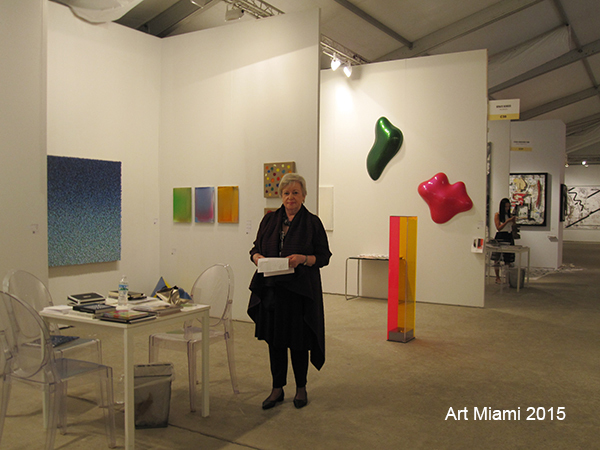 Booth view 2015: Galerie Renate Bender at Art Miami Art Fair