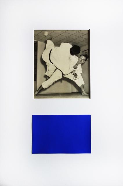 , 'Yves Klein pratiquant une prise de Judo,' ca. 1954, Michael Hoppen Gallery