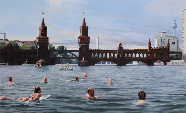 , 'Freischwimmer,' 2016, GALERIE BENJAMIN ECK