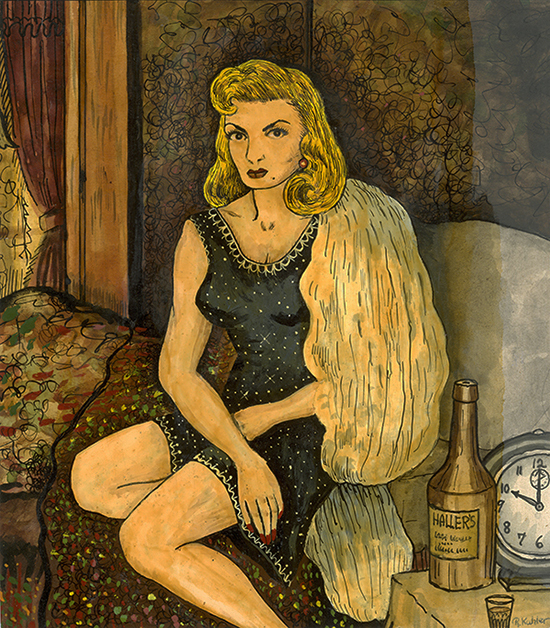 , 'Janet Lingart, Ready for a Night on the Town,' 1956, Ricco/Maresca Gallery