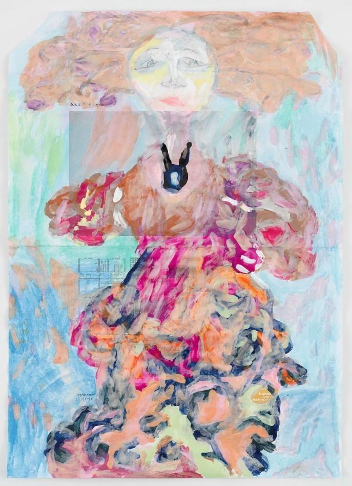 Vaginal Davis, Julian Eltinge, The Countess Charming, 2018  © Vaginal Davis, Courtesy the artist & Dann Gunn Gallery London