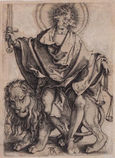 , 'Sol Justitiae,' 1499, Ottocento