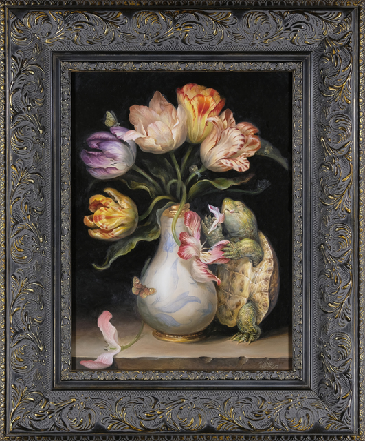 , 'Tulips with Turtle,' 2017, Haven Gallery