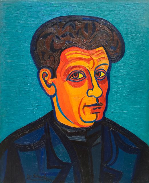 , 'Selbstporträt (Self portrait),' 1954, Hagemeier