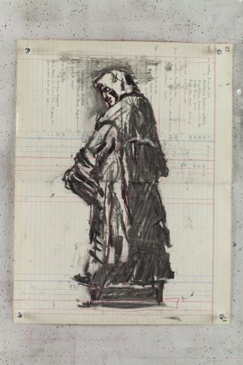 , 'Giordano Bruno (from Campo de Fiori) I,' 2015, Lia Rumma